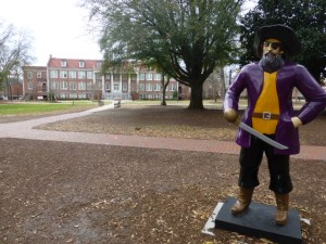 ECU pirate and quad