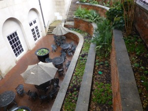 ~SMU outdoor patio