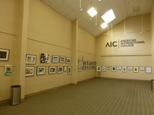 AIC art gallery