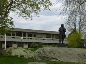 RWU statue
