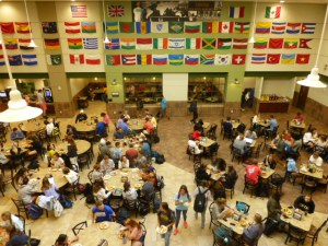 Centre dining hall